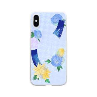 花札 Clear smartphone cases