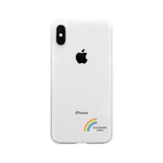 [公式] COCOKARA KIREI Clear smartphone cases