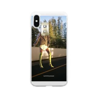 開拓 Clear smartphone cases