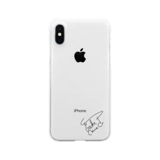 御崎山 椿 Official Clear smartphone cases