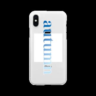 teramachiのautumn Clear smartphone cases