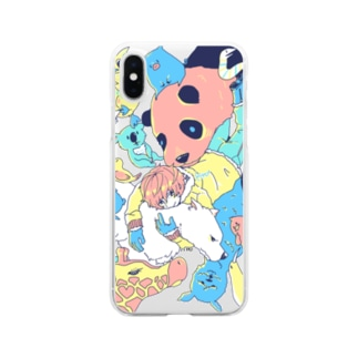 ZOOっといっしょ Clear smartphone cases