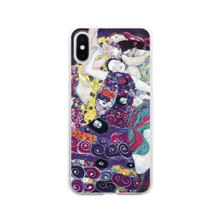グスタフ・クリムト / 1913 / The Virgin / Gustav Klimt Clear smartphone cases