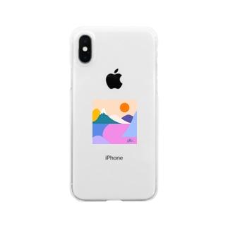 fuji Clear smartphone cases