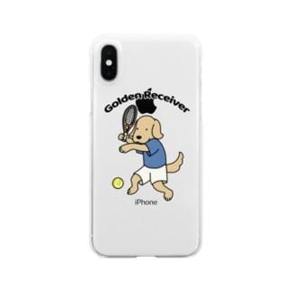 テニス Clear smartphone cases
