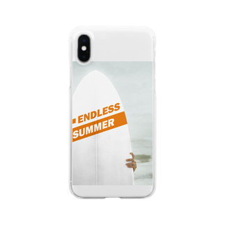 demonstrateのENDLESS SUMMER Clear smartphone cases