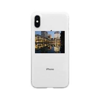 丸の内 Clear smartphone cases
