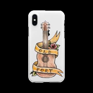 OLD_PORT       【オールドポート】のold-port×orangeribbon Clear smartphone cases
