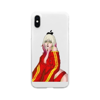 EMO girl  Clear smartphone cases