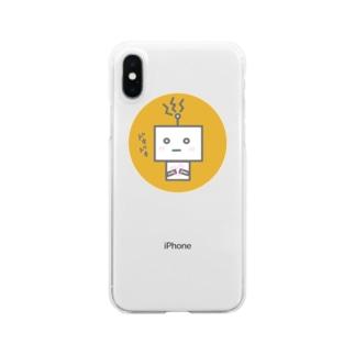 ロボ Clear smartphone cases