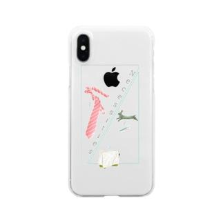 ワークアイテム Clear smartphone cases