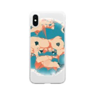 ひょっとこ Clear smartphone cases