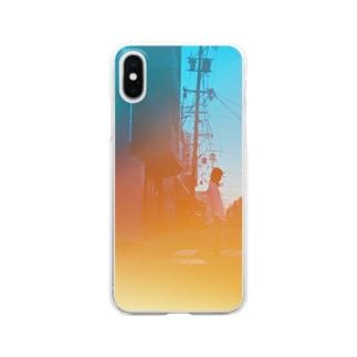 不覚 Clear smartphone cases