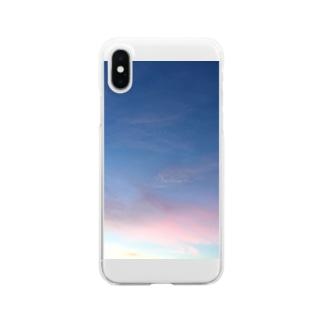 ナツノソラ Clear smartphone cases