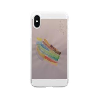 にじ Clear smartphone cases
