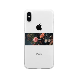 生活に華を Clear smartphone cases