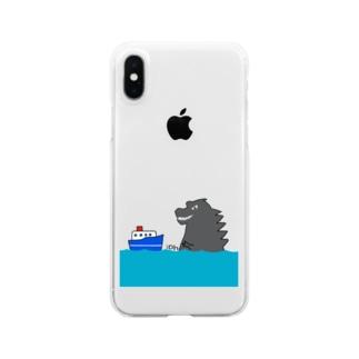 ピンチ Clear smartphone cases