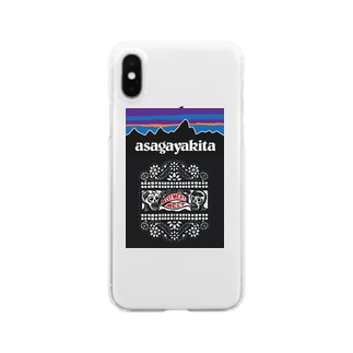 MEATMEATMEET2019AW Clear smartphone cases