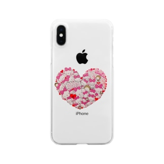 Ella Heart Clear smartphone cases