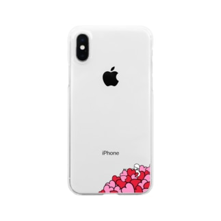 恋に溺れる青年 Clear smartphone cases