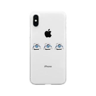 ウォッシュくん クリアiPhoneケース Clear smartphone cases