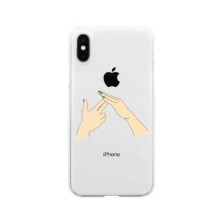 TJ 中村海人ver Clear smartphone cases