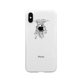 nihilism Clear smartphone cases