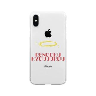 煉獄さん Clear smartphone cases