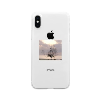人恋しい季節Tとトートとケース Clear smartphone cases