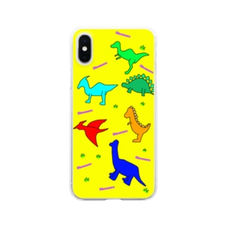 FD/Dinosaurs~ダイナソー~ Clear smartphone cases