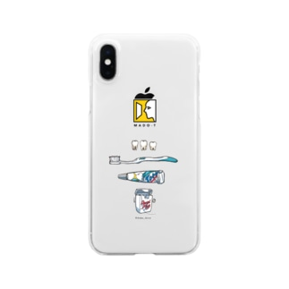 「Dentist」 Clear smartphone cases