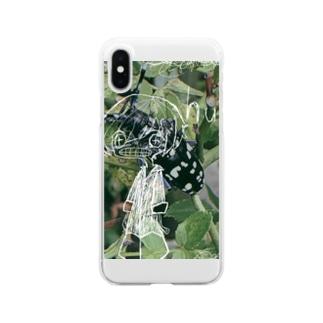 紙切れぬ人 Clear smartphone cases