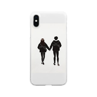 street couple Clear smartphone cases