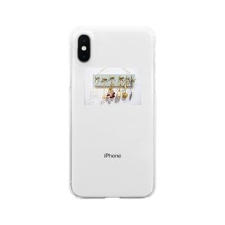 どらいふらわー Clear smartphone cases