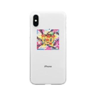 りぼんちゃん Clear smartphone cases