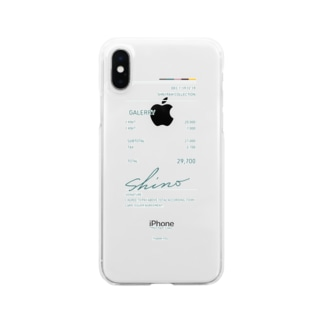 19aw-receipt green Clear smartphone cases