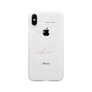 receipt_case_pink Clear smartphone cases