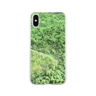 苔 Clear smartphone cases