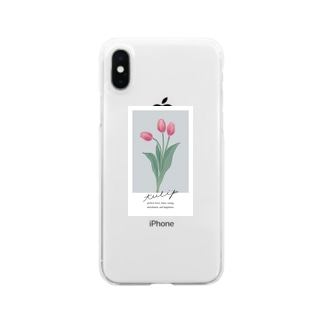 tulip Clear smartphone cases