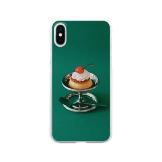 Kensuke Hosoyaのプリン Clear smartphone cases