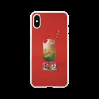 Kensuke Hosoyaのクリームソーダ Clear smartphone cases