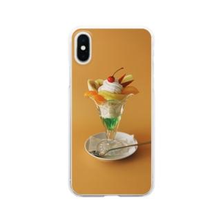パフェ Clear smartphone cases