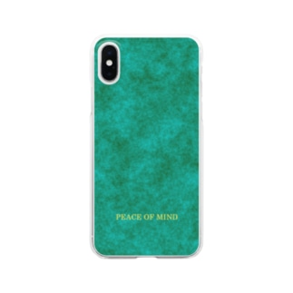 PEACE OF MIND Clear smartphone cases