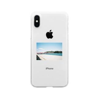 しゃる Clear smartphone cases