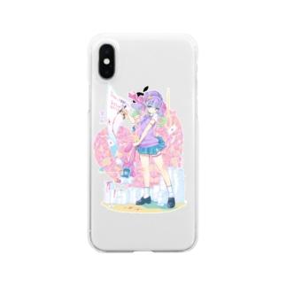 つるしまたつみの遺書 Clear smartphone cases
