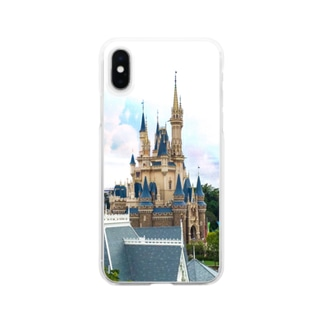 Disney castle Clear smartphone cases