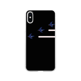 isaisaiisaaのつばめ Clear smartphone cases