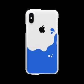 dolparchitectのアオイエキタイ Clear smartphone cases