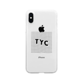 TYCロゴ〰️透過 Clear smartphone cases