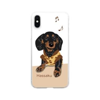 歌うHassaku Clear smartphone cases